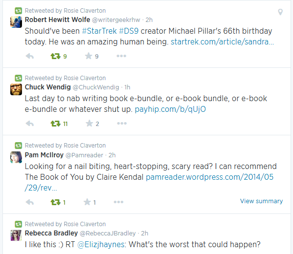 Would I Follow Me Twitter Tips For Writers Rosie Claverton - 29 stupidest things happen 2014