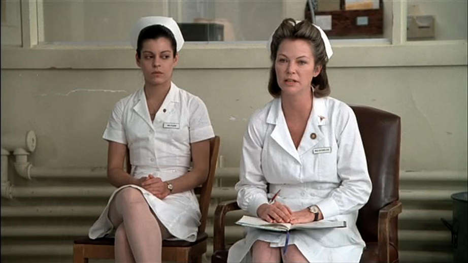 nurse ratched vs rp mcmurphy Mcmurphy is interred at the hospital for diagnosis and possible treatment, reads nurse ratched, who  mcmurphy observes that ratched's tactics are intended.